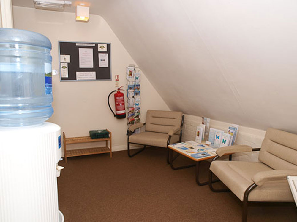 Therapies waiting room